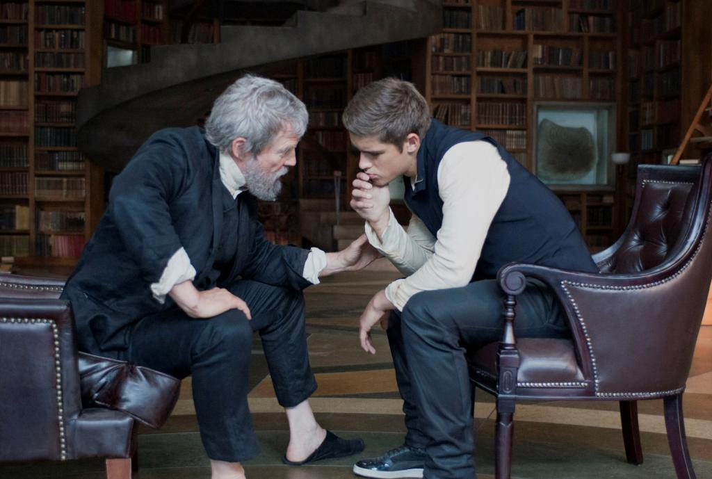 The Giver - The forbidden Library scene