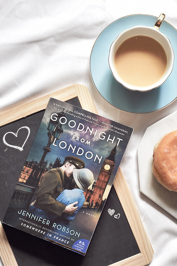 10/10 review for historical fiction novel Goodnight from London - Supremely enjoyable from start to finish, I couldn't find a thing wrong with this novel. And believe me, I tried.