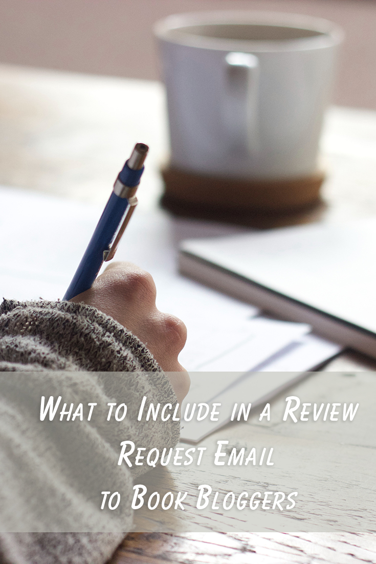What to Include in a Review Request Email to Book Bloggers