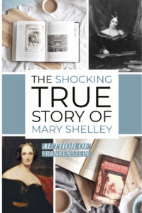 mary shelley biography shocking history