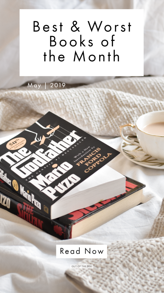 best and worst books of the month may 2019 book reviews pinterest