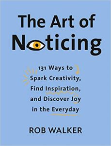 New Book Releases May 2019 The Art of Noticing